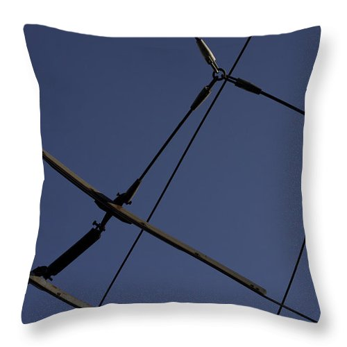 Athens Throw Pillow featuring the photograph Athens by Von Hoffman