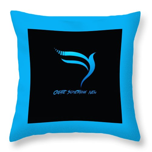 Creative Throw Pillow featuring the digital art Attrunshka by Anant Prakash