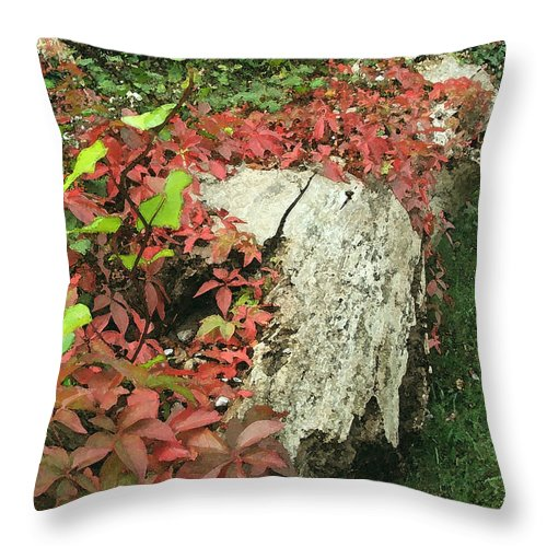 Hampstead Throw Pillow featuring the photograph Autumn In Hampstead by Heather Lennox