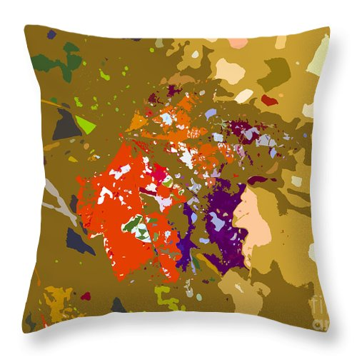 Autumn Throw Pillow featuring the photograph Autumns Leaf by David Lee Thompson