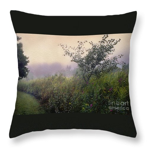 Landscape Throw Pillow featuring the photograph Avalon by Yuri Lev