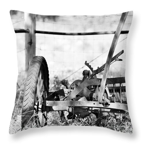 Throw Pillow featuring the photograph B/w 135 by Jeff Downs