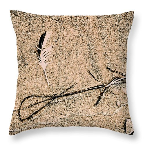 Fine Art Throw Pillow featuring the photograph Back For Ever Zen by Susanne Van Hulst