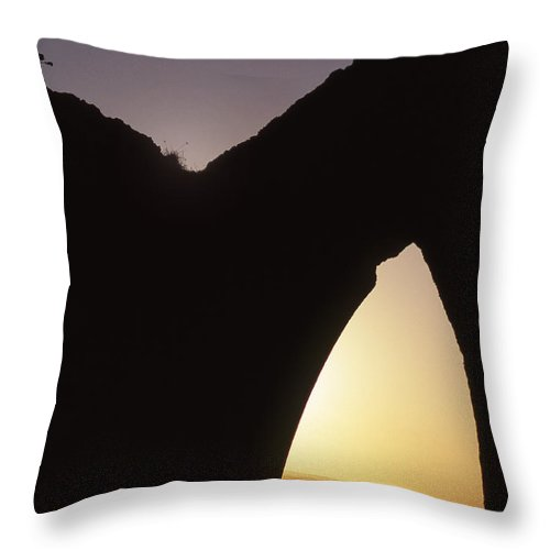 Bahia Throw Pillow featuring the photograph Bahian Sunset by Patrick Klauss
