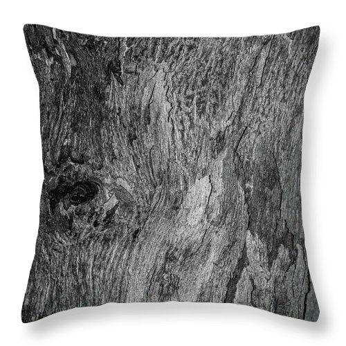 Bark Throw Pillow featuring the photograph Bark At The Moon by Evil Shadows