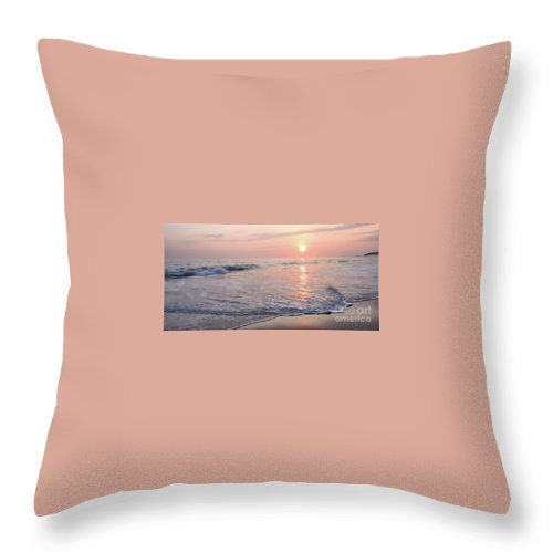 Beach Throw Pillow featuring the photograph Beach Life 2 by Victor K