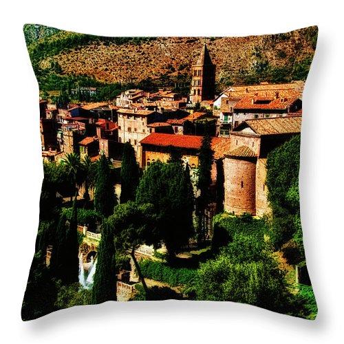 Tivoli Throw Pillow featuring the photograph Beautiful Tivoli by Harry Spitz