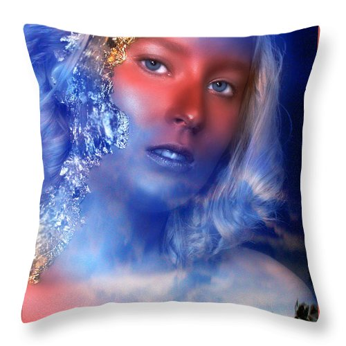 Clay Throw Pillow featuring the photograph Beauty In The Clouds by Clayton Bruster