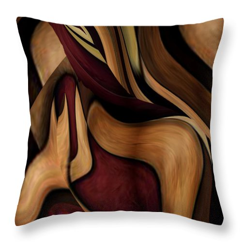 Beauty Queen Throw Pillow featuring the painting Beauty Queen by Jill English