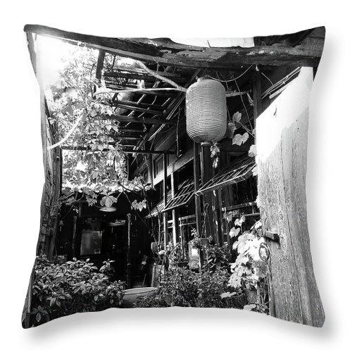 Beijing Throw Pillow featuring the photograph Beijing City 22 by Xueling Zou