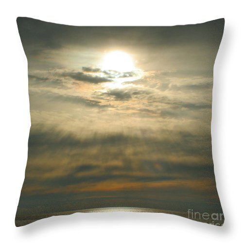 Sun Throw Pillow featuring the photograph Believe by Idaho Scenic Images Linda Lantzy