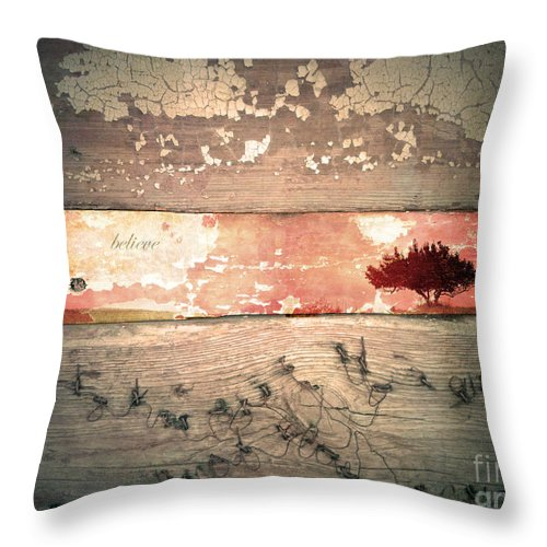 Believe Throw Pillow featuring the photograph Believe by Tara Turner