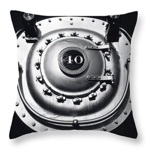 Locomotive Throw Pillow featuring the photograph Big by Steven Huszar