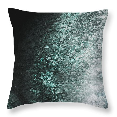 Abstract Throw Pillow featuring the digital art Blast by Mark Stephens