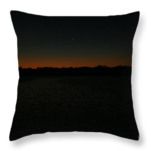 Sunset Throw Pillow featuring the photograph Blazing by Jamie Lynn