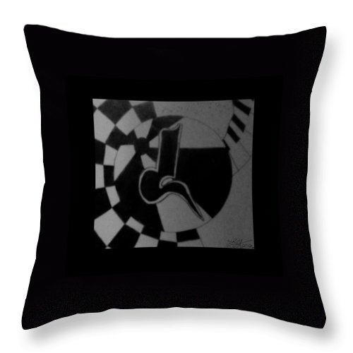 Abstract Throw Pillow featuring the photograph Blondeass Sunshine by Rob Hans