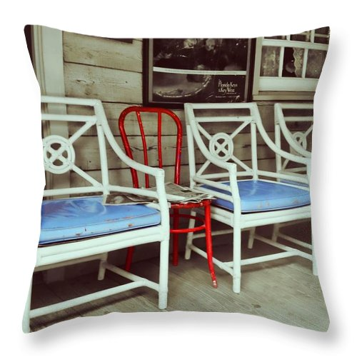 Blue Heaven Throw Pillow featuring the photograph Blue Heaven by JAMART Photography