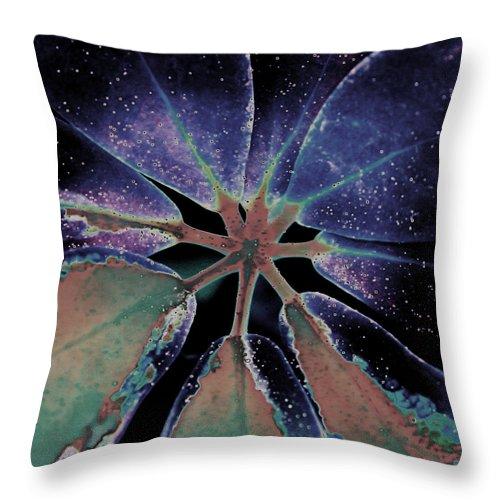 Blue Throw Pillow featuring the digital art Blue by Joseph G Holland