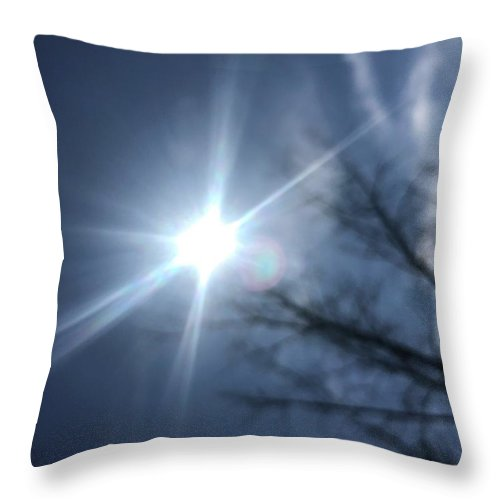 Throw Pillow featuring the photograph Blur by Caren DeCesaris