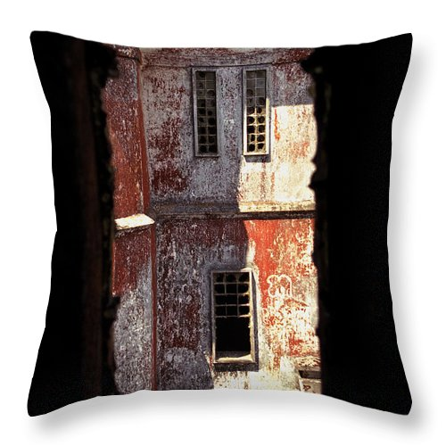 Bokor Throw Pillow featuring the photograph Bokor by Patrick Klauss