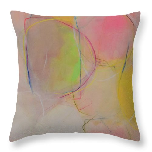 Close Throw Pillow featuring the painting Bonded by Christina Hibbard