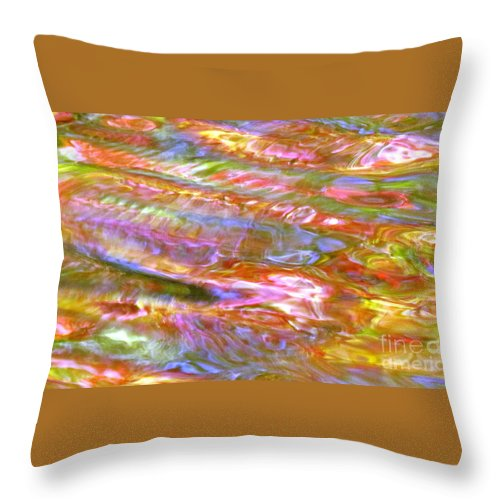 Abstract Throw Pillow featuring the photograph Beautiful Bones by Sybil Staples