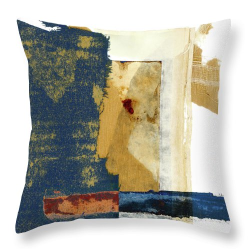 Old Books Throw Pillow featuring the mixed media Books Deconstructed 425 by Carol Leigh