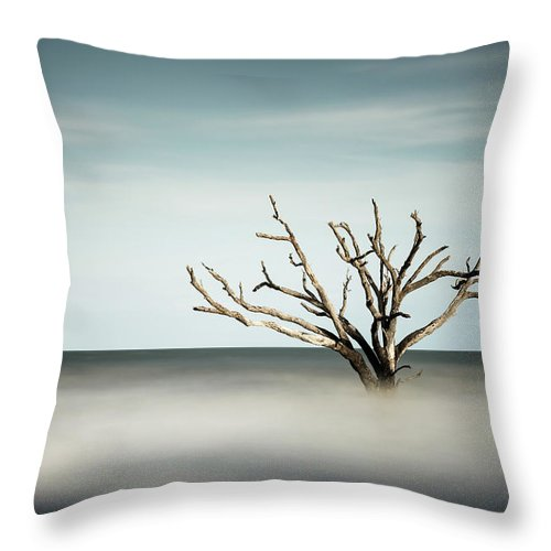 Botany Bay Throw Pillow featuring the photograph Botany Bay by Ivo Kerssemakers