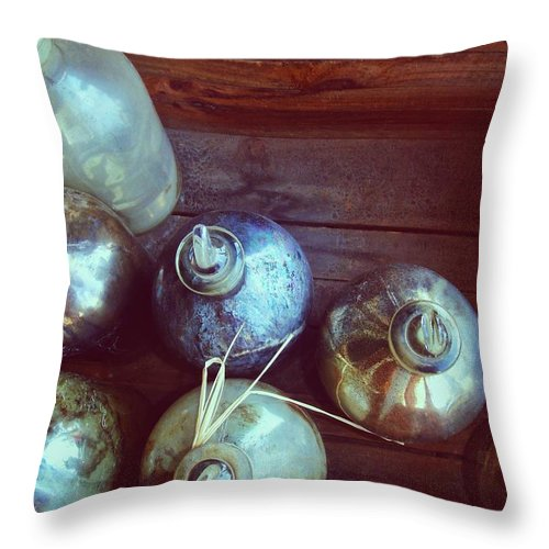 Bottle Throw Pillow featuring the photograph Bottled Time by JAMART Photography