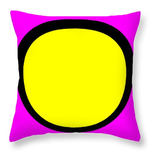 Square Throw Pillow featuring the digital art Boudoir by Eikoni Images