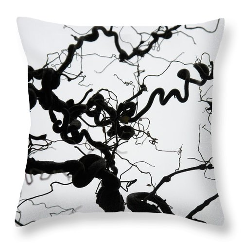 Branches Throw Pillow featuring the photograph Branches by Stefania Levi