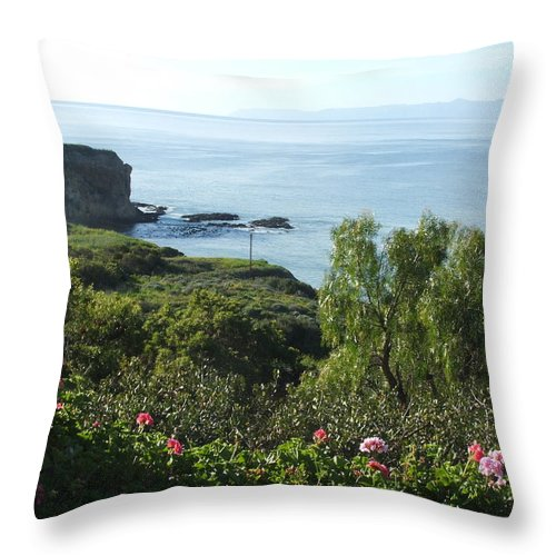 Landscape Throw Pillow featuring the photograph Breath Of Fresh Air by Shari Chavira