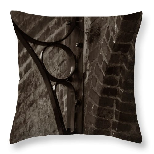 Brick Throw Pillow featuring the photograph Brick by Deana Connell