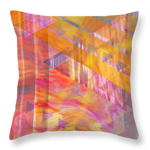 Affordable Art Throw Pillow featuring the digital art Bright Dawn by John Beck