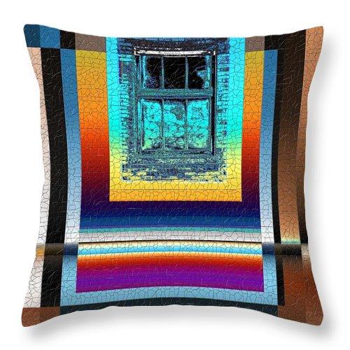 Digital Art Throw Pillow featuring the digital art Broken Dreams 3 by Tim Allen