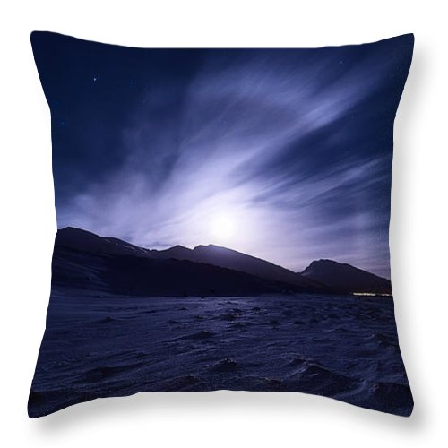 Halo Throw Pillow featuring the photograph Broken by Tor-Ivar Naess