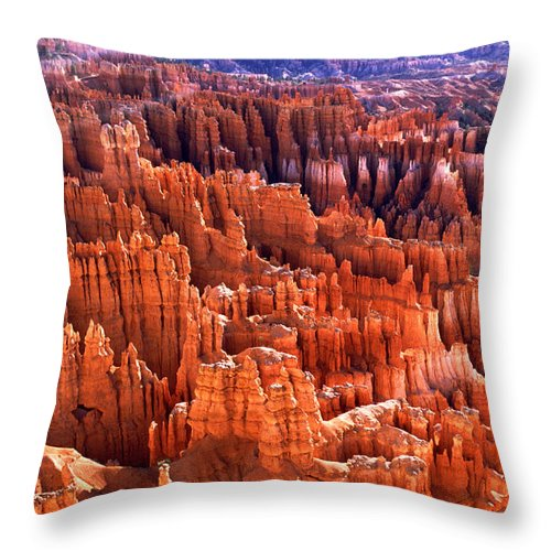 Bryce Canyon Throw Pillow featuring the photograph Bryce Canyon by Amanda Kiplinger