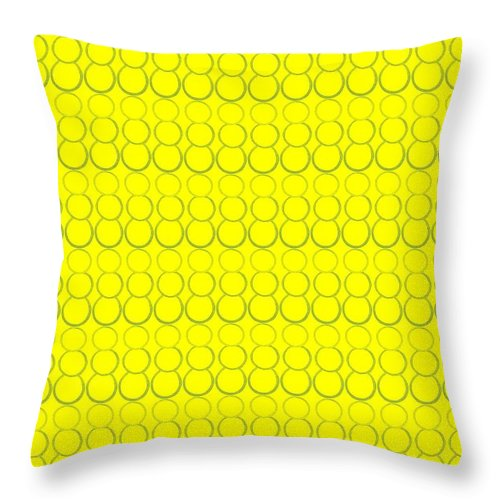 Bubbles Throw Pillow featuring the pastel Bubbles All Over The Place 19 by Erma L George