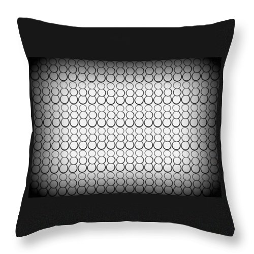 Bubbles Throw Pillow featuring the drawing Bubbles All Over The Place 7 by Erma L George