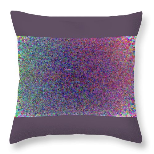 Confetti Throw Pillow featuring the digital art Bursting Confetti by April Patterson