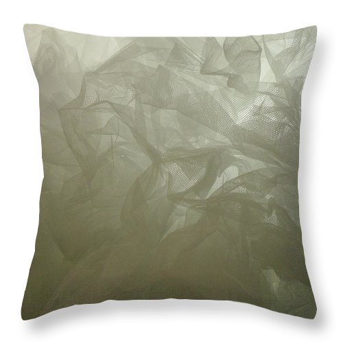 Soft Lines Throw Pillow featuring the photograph Bustle I by Anna Villarreal Garbis