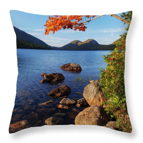 Calm Throw Pillow featuring the photograph Calm Before the Storm by Chad Dutson