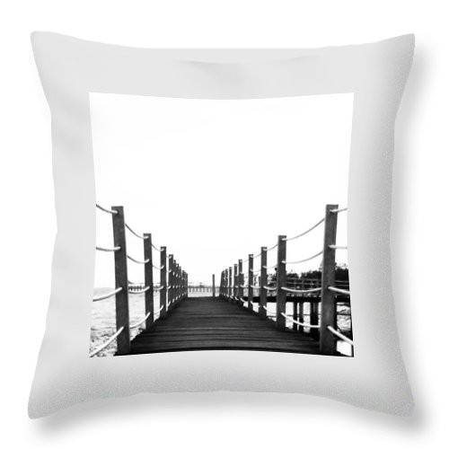 Photography Throw Pillow featuring the photograph Calm by Leon Lee