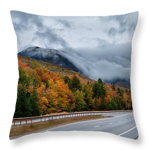 Fog Throw Pillow featuring the photograph Cannon Balls Cloud by Shell Ette