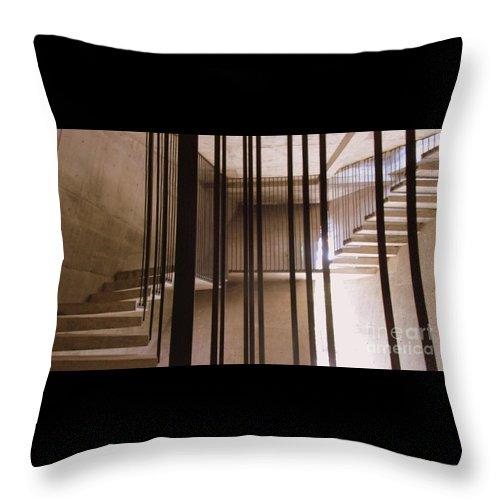 Capilla Del Atardecer Throw Pillow featuring the photograph Capilla Del Atardecer 8 by Randall Weidner