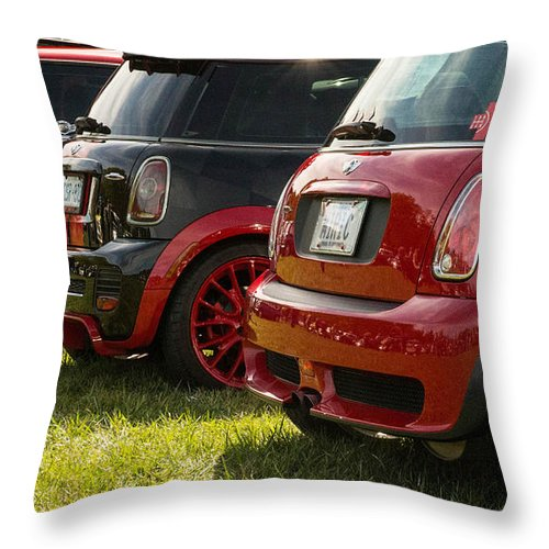 Throw Pillow featuring the photograph Car Rims by Timoke Brown