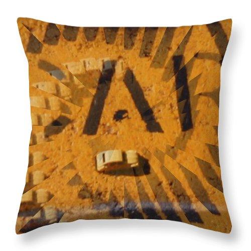 Car Throw Pillow featuring the digital art Car by Tim Allen