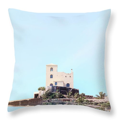 Castle Throw Pillow featuring the photograph Castle Reflection by Joana Kruse