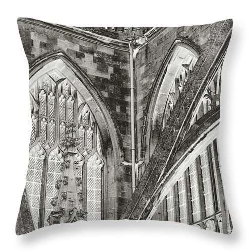 Church Throw Pillow featuring the photograph Cathedral by Tony Grider