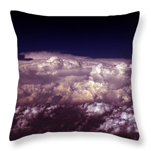 Cloud Photos Throw Pillow featuring the photograph Cb5.866 by Strato ThreeSIXTYFive